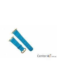 Ремешок Apple Watch Strap Azure Alligator