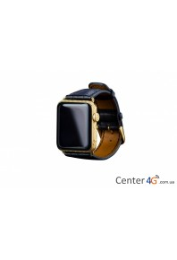 Apple Watch 4 24kt Skull Gold Watch