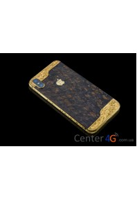 Iphone Brown Wooden Ornate Aristocrat X