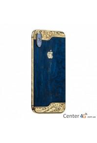 Iphone Wooden Ornate Aristocrat X
