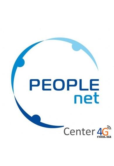 Купить Стартовый пакет PeopleNet «Тройной супер безлимит»