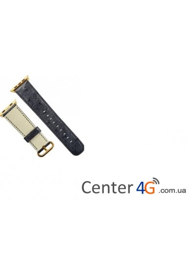 Купить Ремешок Apple Watch Strap Black Ostrich
