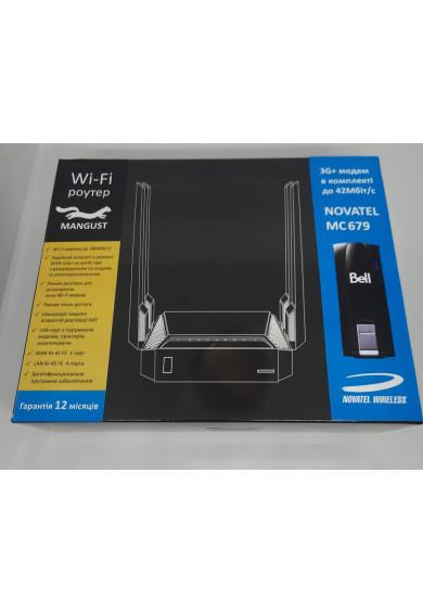 Купить Black Mangust 3G 4G WiFi Роутер + 3G модем Novatel MC679