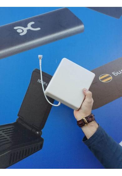 Купить Антенна планшетная для усилителя 3G 4G сигнала GSM LTE 8 dbi