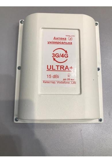 Купить 3G 4G Антенна универсальная ULTRA+ 15db Lifecell Kyivstar Vodafone
