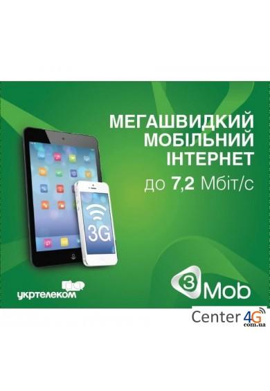 Купить Стартовый пакет 3Mob «Интернет БЕЗЛИМ»