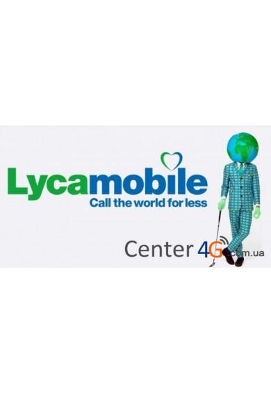 Купить Стартовый пакет Lycamobile 30