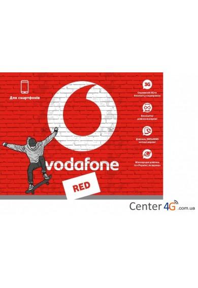 Купить Тарифный план Vodafone RED